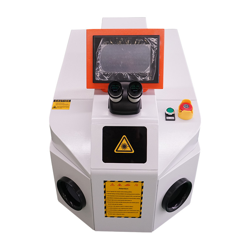 Table jweelry ring gold silver yag laser welding machine 100w 200w 300w 400w