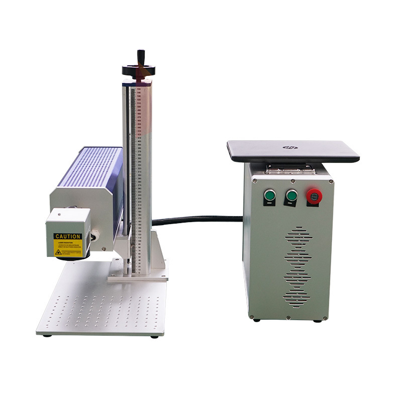 10w 20w 30w 50w co2  galvo rf laser marking machine price for nonmetal wood for leather