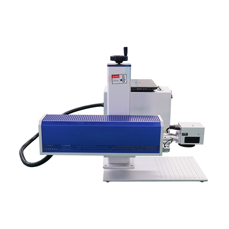 product-Lxshow-10w 20w 30w 50w co2 galvo rf laser marking machine price for nonmetal wood for leath