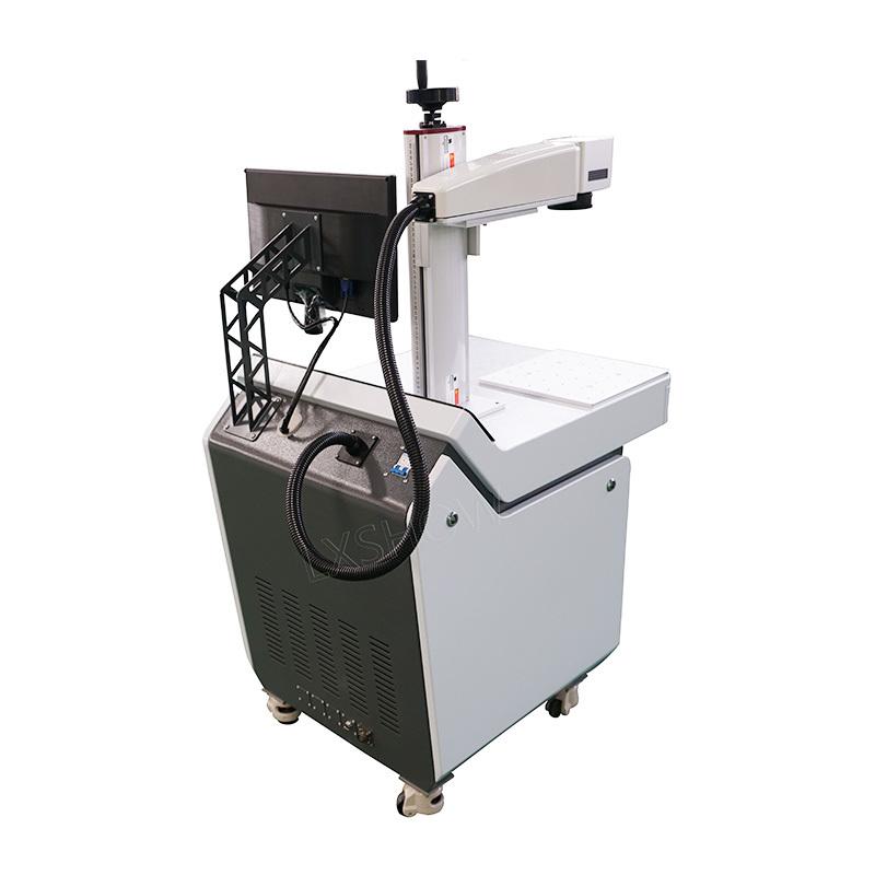 product-High configuration fibre laser marking machine fiber laser marker on stainless steel iron al-1