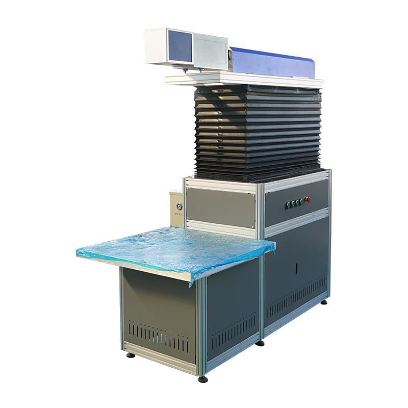3d dynamic co2 laser marking machine with big size 50w 100w 150w