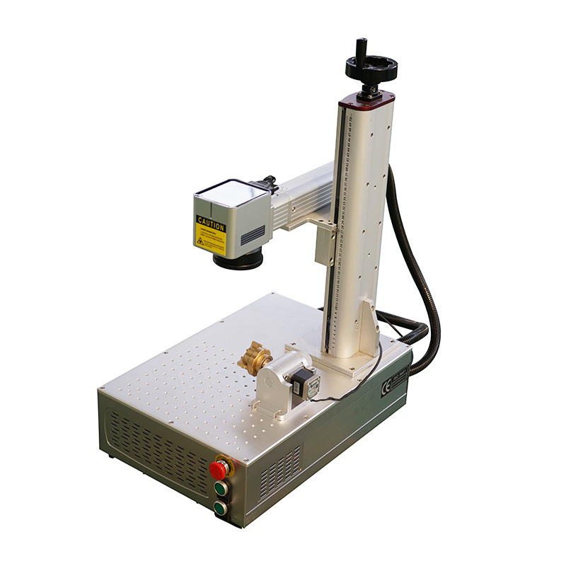 Mini Small fiber laser marking machine 20watt 30watt 50watt 100watt