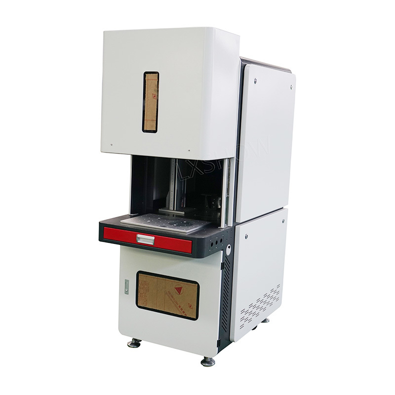 product-Lxshow-Colorful color mopa hobby iphone gun fiber laser marking machine-img