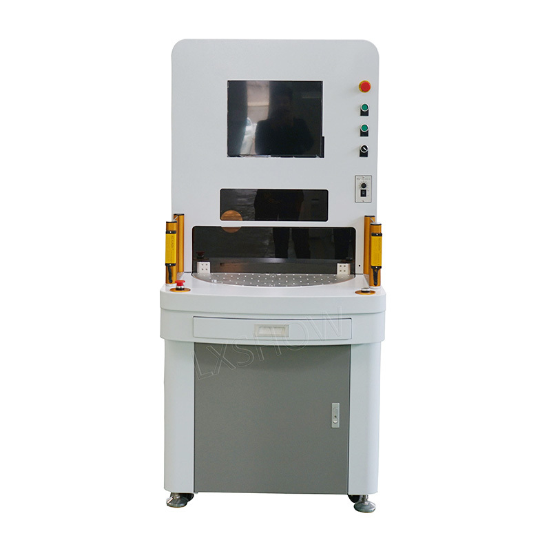 Four station logo laser marking software ezcad price nameplate marking machine