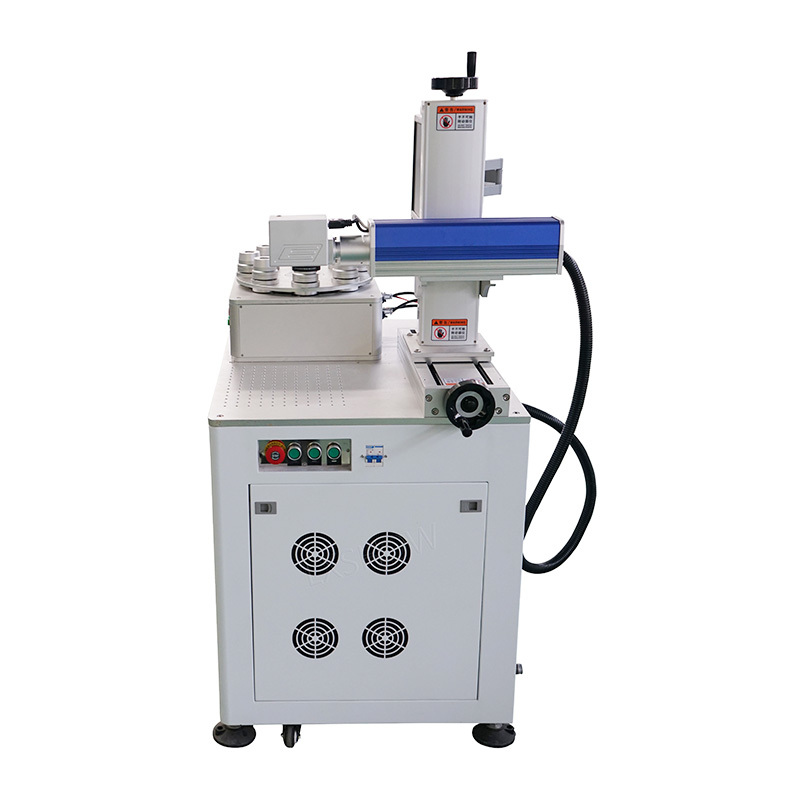 product-Lxshow-Lamp Fiber lazer marking machine for lamp for key for stainless steel for button-img