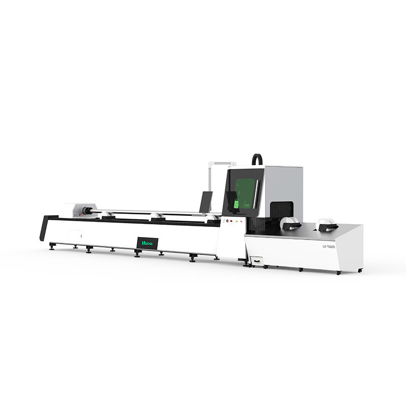 Metal tube fiber laser cutting machine LXF6020T
