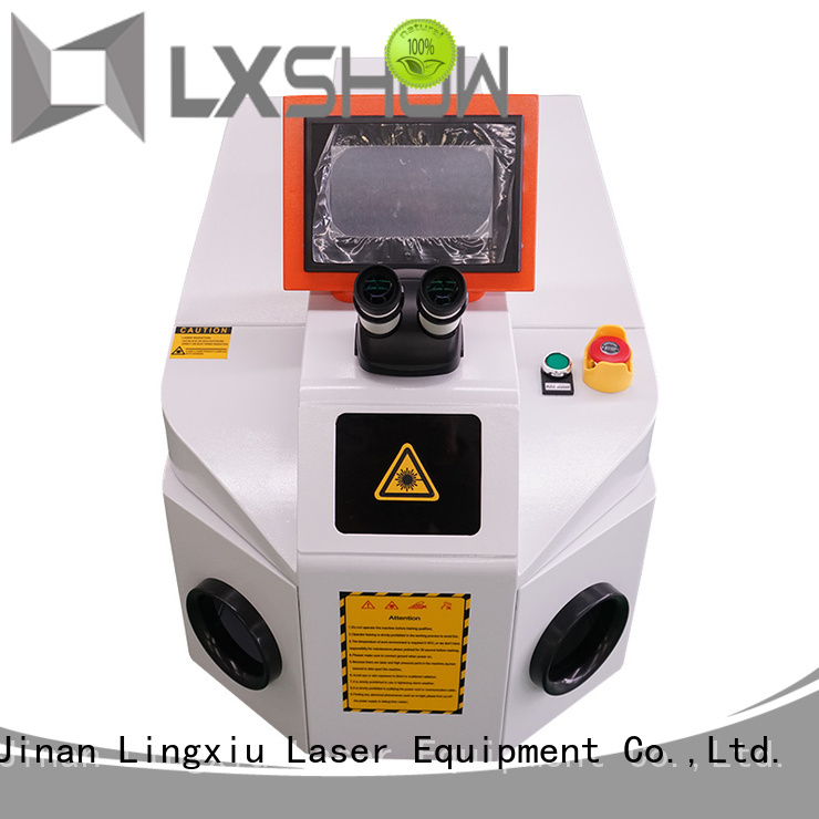 Lxshow laser welding factory price for Advertisement sign