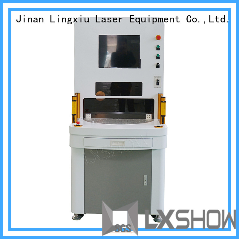 Lxshow controllable laser marking factory price for Clock