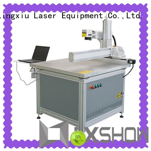 Lxshow marking laser machine manufacturer for packaging bottles