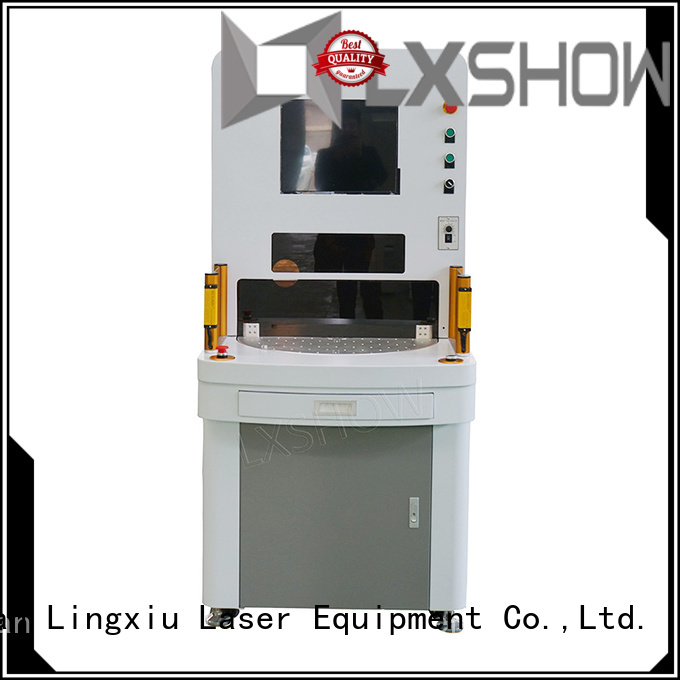 Lxshow controllable marking laser machine directly sale for Clock