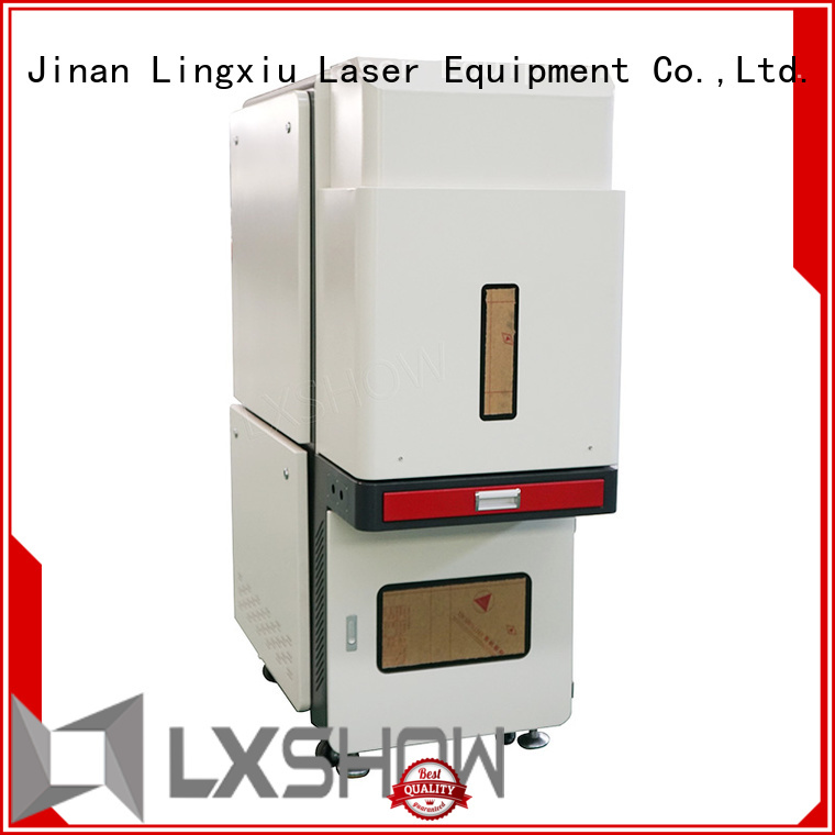 Lxshow marking laser machine directly sale for Cooker