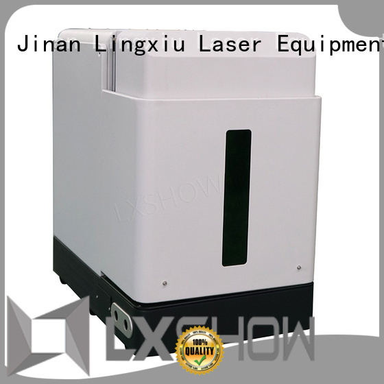 Lxshow controllable marking laser machine wholesale for medical equipment