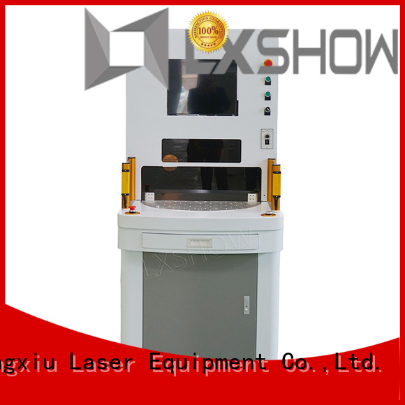 Lxshow marking laser machine wholesale for packaging bottles