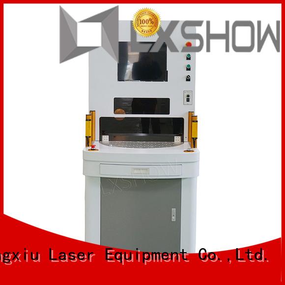 Lxshow marking laser machine wholesale for packaging bottles