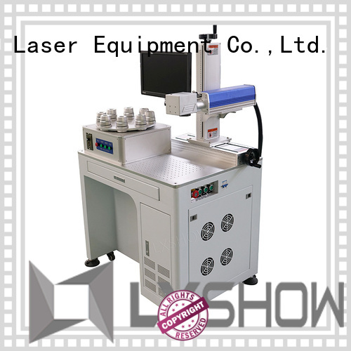 Lxshow stable laser marking machine directly sale for packaging bottles