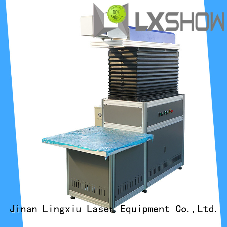 Lxshow hot selling co2 laser machine wholesale for coconut shell
