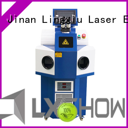 Lxshow creative laser welding machine manufacturer for jewelry