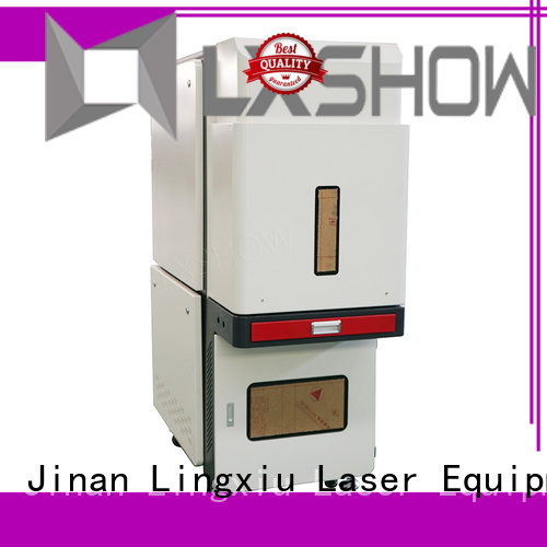 Lxshow marking laser factory price for Cooker