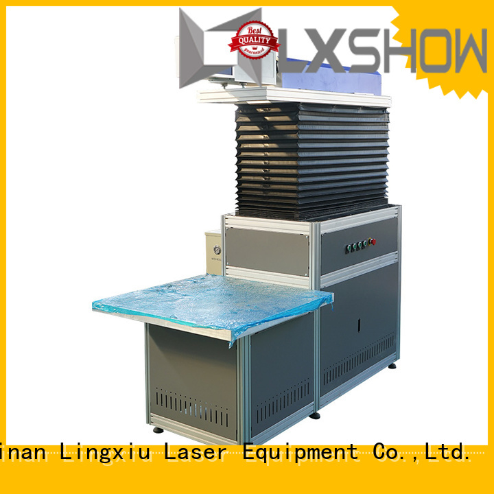 Lxshow marking laser machine directly sale for paper