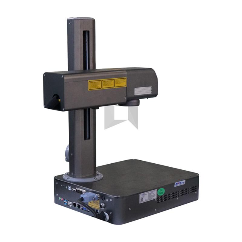 product-Lxshow-20W MAX laser generator hobby portable mini fiber laser marking machine-img