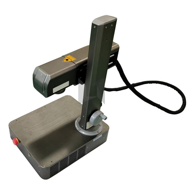 product-Lxshow-20W MAX laser generator hobby portable mini fiber laser marking machine-img-1