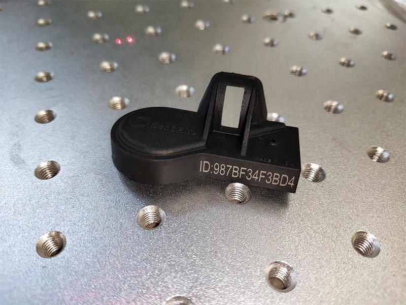 news-Lxshow-Uv laser marking machine on pp plastic nonmetal materials-img