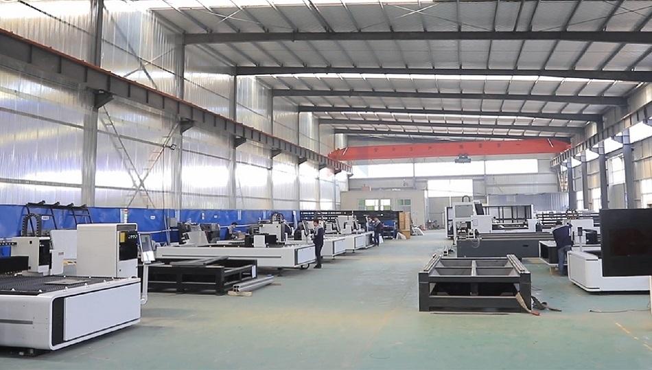 LXSHOW - cnc fiber laser cutting/ marking machine office factory workshop video show