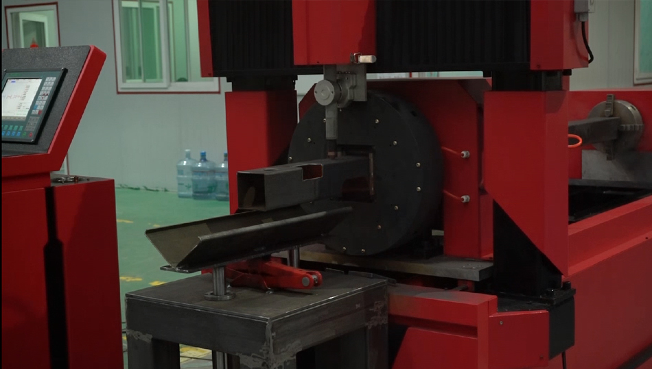 professional tube cnc plasma cutting cut cutter machine for metal