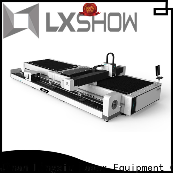 Lxshow fiber cutter from China for Mild Steel Plate