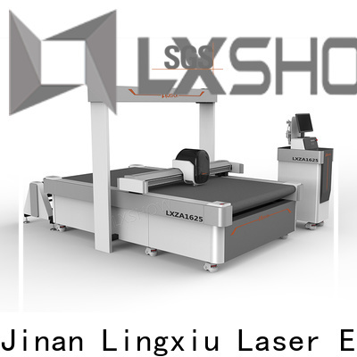 Lxshow stable cnc cutting machine supplier for bags materials