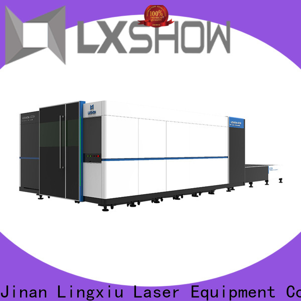 Lxshow creative metal cutting laser directly sale for Clock