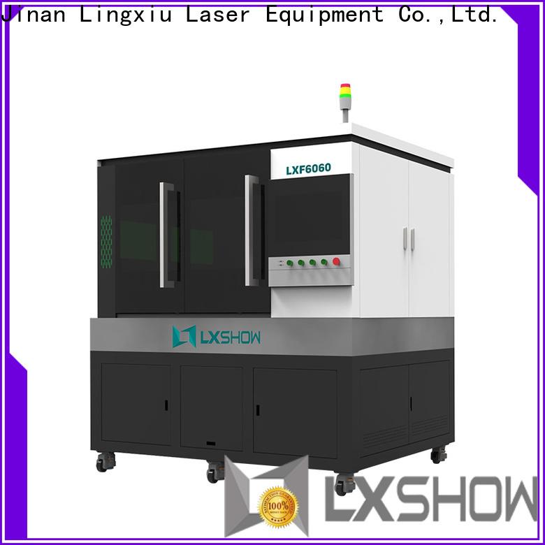 Lxshow efficient fiber laser directly sale for packaging bottles