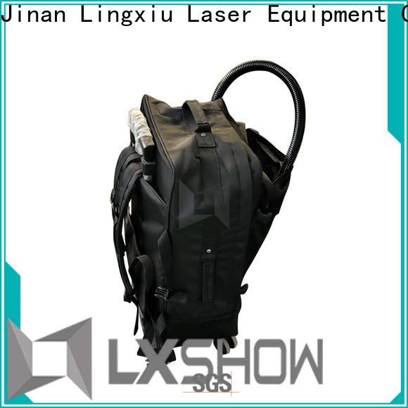 Lxshow durable laser cleaning rust wholesale for factory