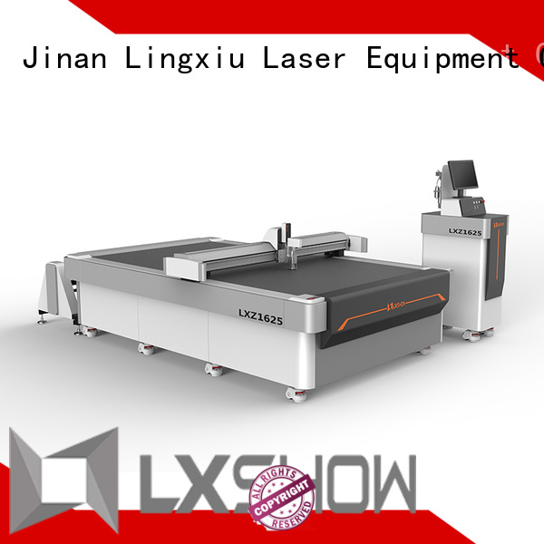 Lxshow good quality fabric cutting machine factory price for foam board