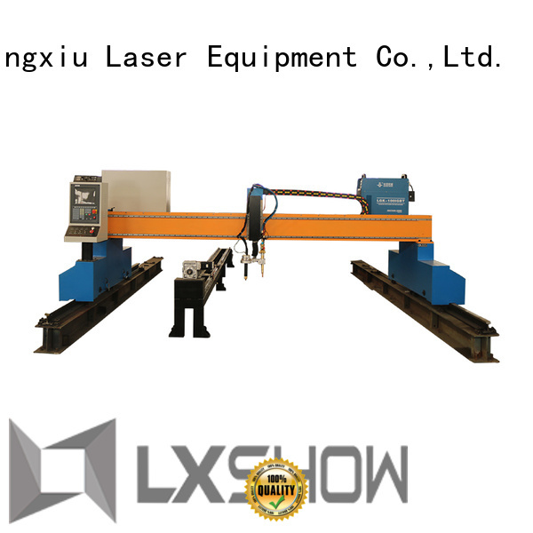 Lxshow plasma cnc table factory price for Metal industry