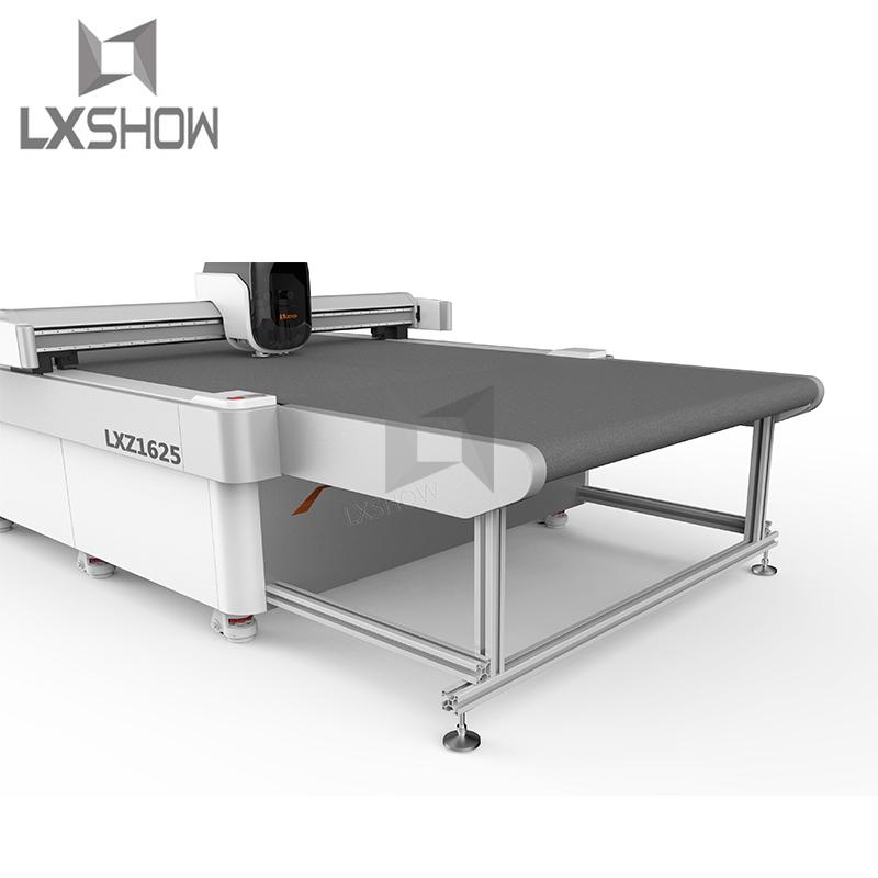 product-Auto Feeding Vibrating Knife Cutting Machine 1625-Lxshow-img-1