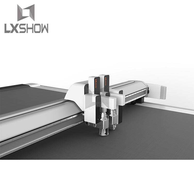 product-Lxshow-Auto Feeding Vibrating Knife Cutting Machine 1625-img