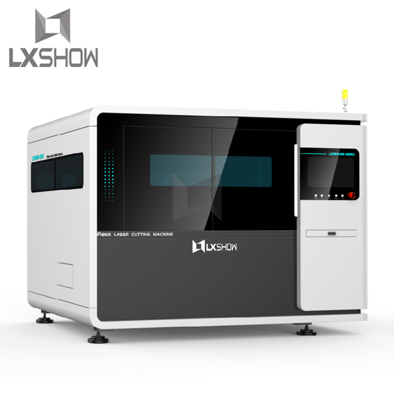product-Lxshow-High precision small thin sheet metal laser cutting machines 0640 500W 750W-img