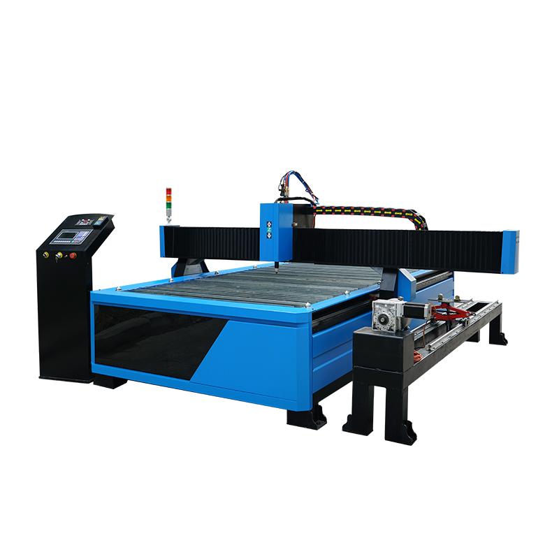 Metal sheet and metal tube metal pipe cnc plasma tube cutting machine 1325 1530 2030 with rotary
