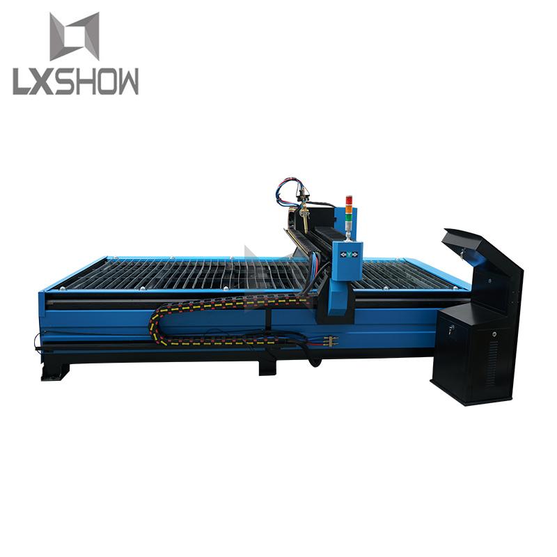 product-Metal sheet and metal tube metal pipe cnc plasma tube cutting machine 1325 1530 2030 with ro-1
