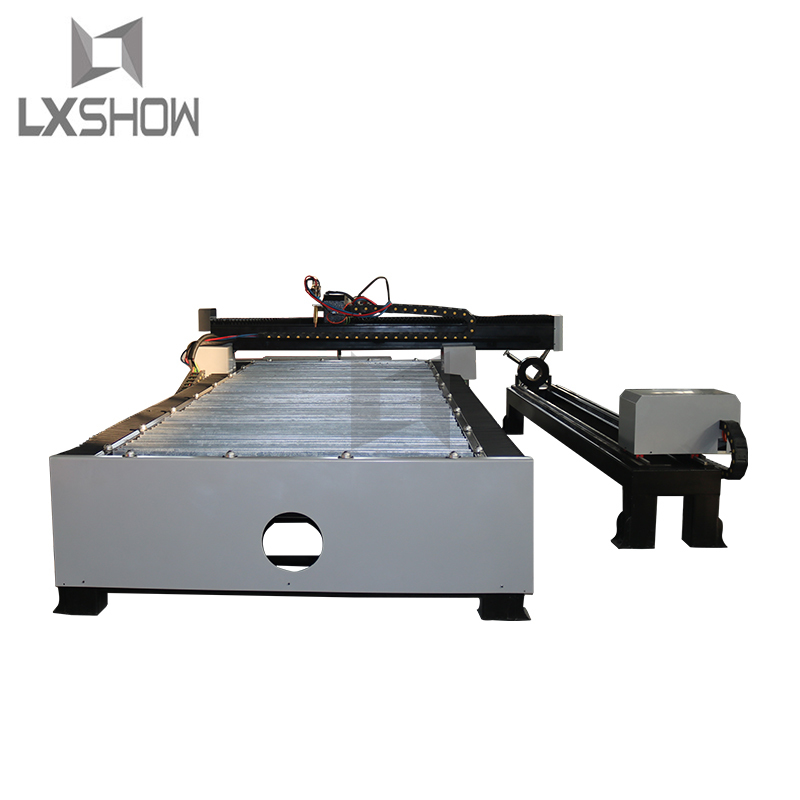 product-Metal Square tube Round tube plasma cutting machine 1325 1530 with rotary device-Lxshow-img-1