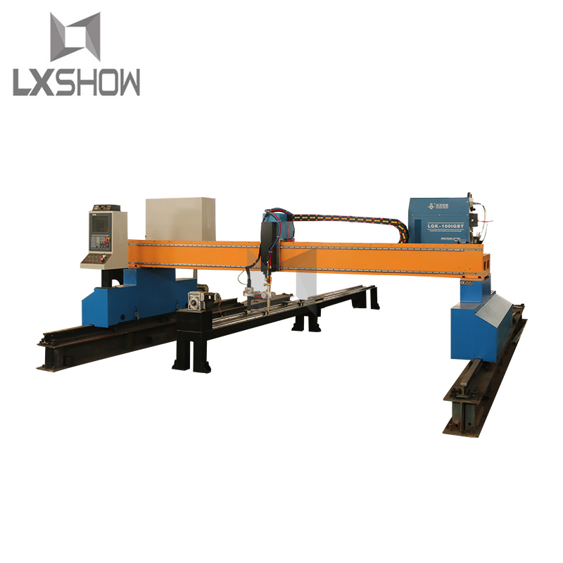 product-Lxshow-gantry cnc plasma cutting machine cnc plasma cutter gantry kit 3060 3080 4060 4080-im