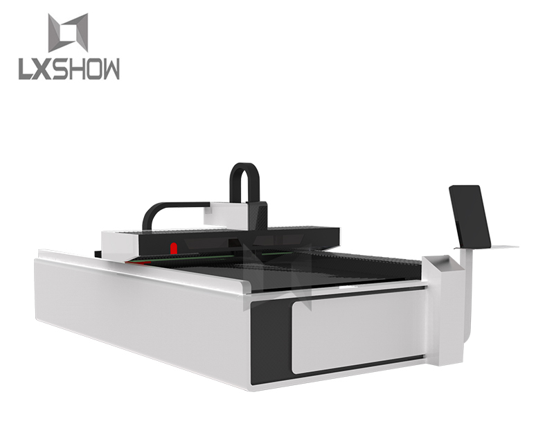 news-Lxshow-New design Fiber laser generator + CO2 glass laser tube metal and nonmetal laser cutting