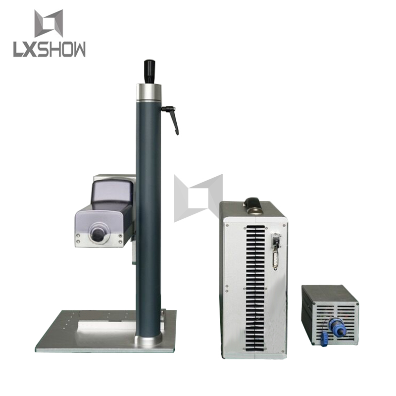 product-20W 30W Raycus Laser Power split mini portable Fiber laser marking machine manufacturesuppli-1