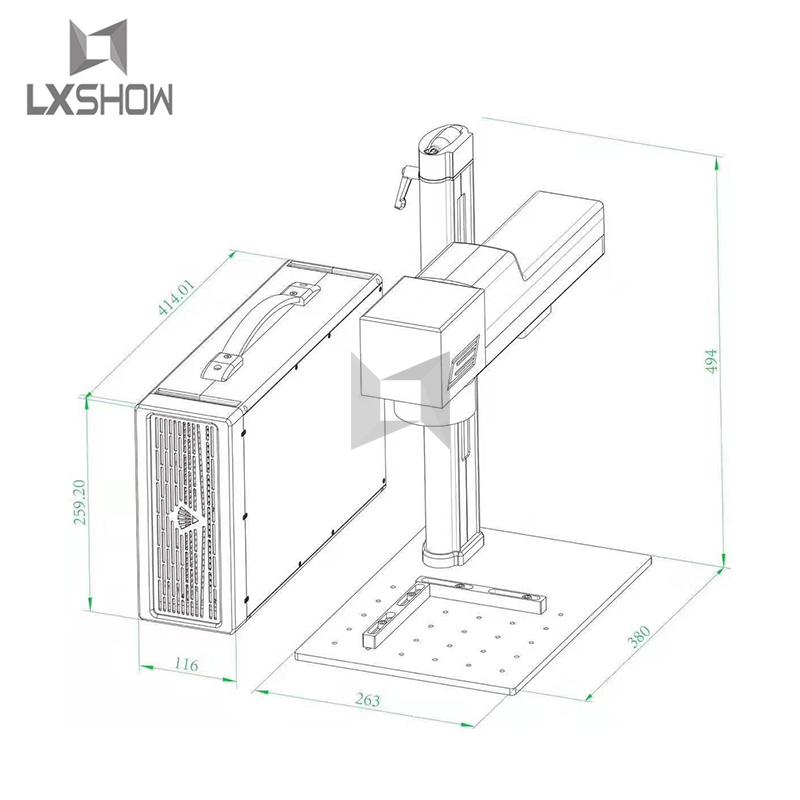 product-20W laser marking machine-Lxshow-img-1