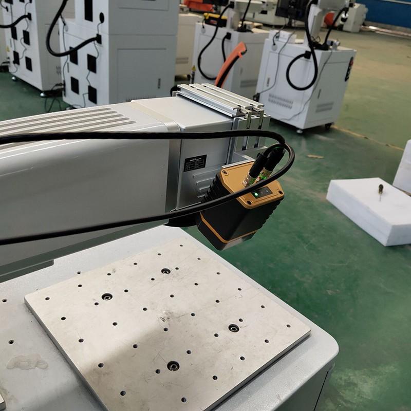 news-Lxshow-Visual positioning function fiber laser marking machine mark on aluminum sheet plate-img
