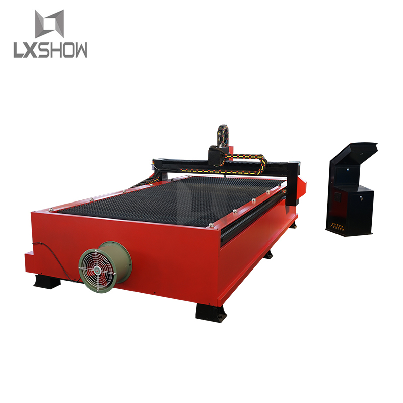 product-Lxshow-China metal sheet plasma cutting machine Table Cnc plasma cutter price with plasma po