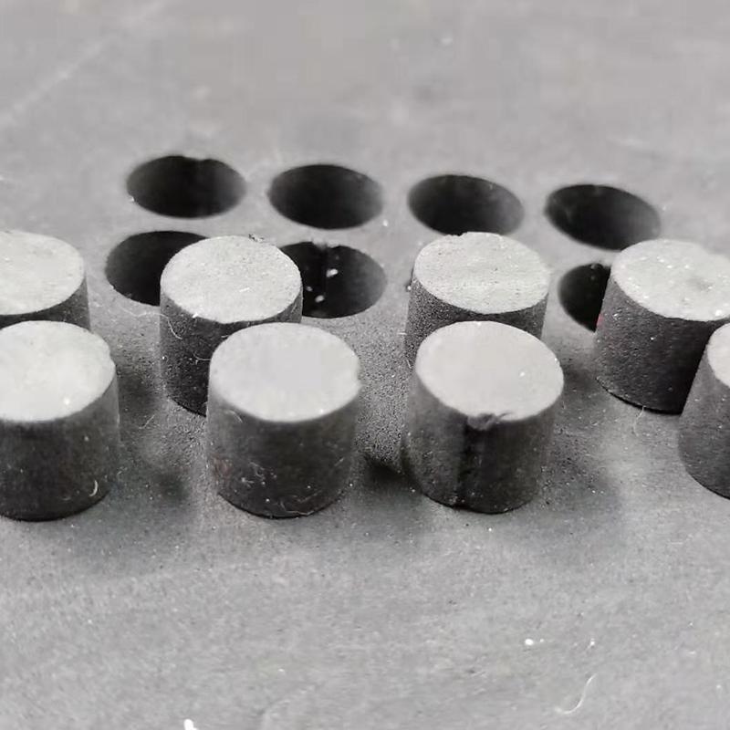 news-Lxshow-Vibrating knife cnc cutting machine cut EVA 10mm with diameter 10mm-img