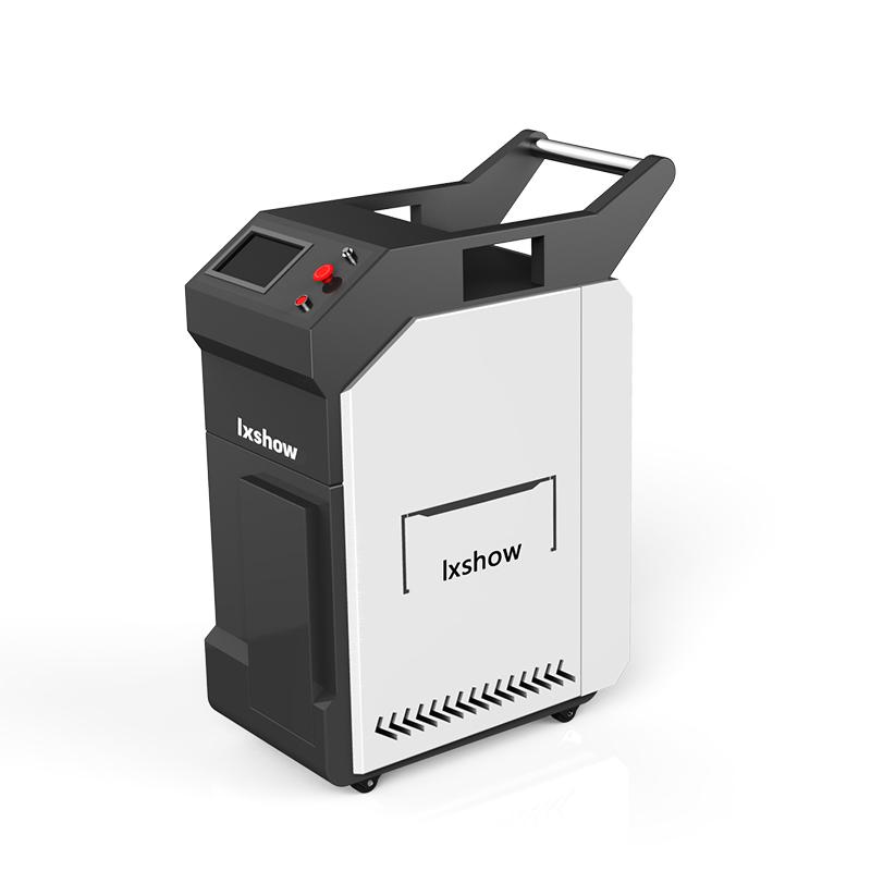 Metal Rust removal mini portable fiber laser cleaning machine 1000w 500w 300w 200w 100w 50w for sale