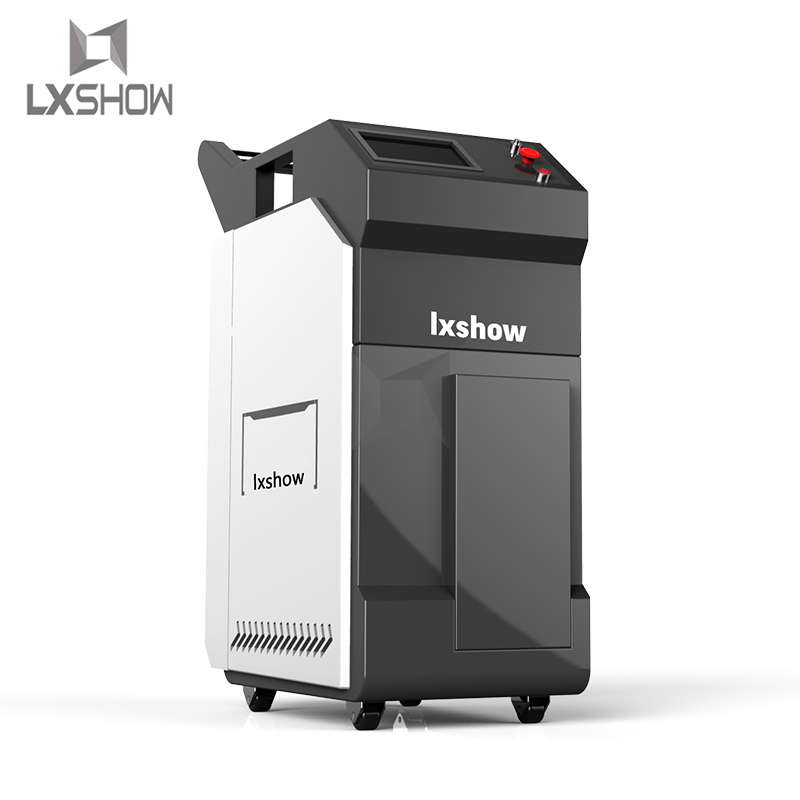 product-Lxshow-Metal Rust removal mini portable fiber laser cleaning machine 1000w 500w 300w 200w 10